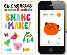 App that incorporates Ed Emberley and Charlie Harper.