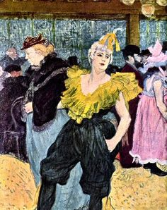 Toulouse-Lautrec : la Clownesse.