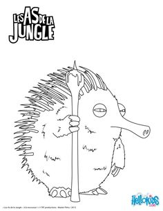 Les as de la jungle jungle pinterest jungle - Coloriage as de la jungle ...