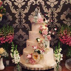 Pale colors para casamento no último sábado! ❤️