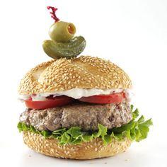 Mediterranean Veggie Burgers with Lemon Caper Mayo | Recipe | Veggie ...