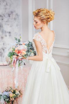Нежное утро невесты: фотосессия | DiscoverWedding.ru
