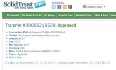 AdClikXpress Withdrawal Proof no b5 ! I am getting paid daily at ACX and here is proof of my latest withdrawal. This is not a scam and I love making money online with Ad Click Xpress. Here is my Withdrawal Proof from AdClickXpress. I get paid daily and I can withdraw daily. http://www.adclickxpress.com/?r=ddtpecko&p=aa