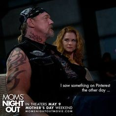This was the best part of the movie. Not only because is Trace Adkins, its what he is saying. It is very true. Moms night out- movie
