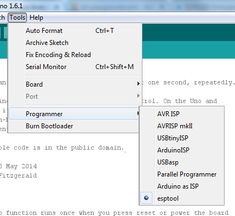 ESP8266 and Arduino IDE - blink example