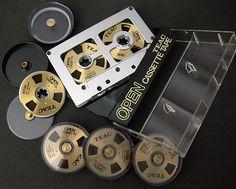 Teac O'Casse '80s open-reel audio cassette system