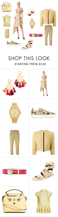 """""""Fashion"""" by emmamegan-5678 ❤ liked on Polyvore featuring Lizzie Fortunato, Monse, Michael Kors, MOA Master of Arts, Dsquared2, Brunello Cucinelli, Dolce&Gabbana, Rebecca Minkoff, Fendi and Erdem"""