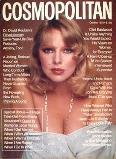 Cosmopolitan magazine, OCTOBER 1975 Model: Agneta Eckemyr Photographer: Francesco Scavullo