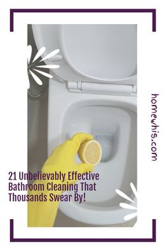 Maintaining a clean bathroom is an important routine that keeps the home smelling good and looking clean. Here are 21 bathroom cleaning hacks that will make cleaning your bathroom so much easier and with less sweat. Visit the blog post to see all 23 bathroom cleaning hacks to clean, disinfect and deodorize your bathroom. #homewhis #cleaninghacks #bathroomcleaning #cleaningtips #cleaning #cleanbathroom #smellhacks #bakingsodacleaning #cleaningschedule Bathroom Counter Organization, Fridge Organization, Bathroom Cleaning Hacks, Home Organization Hacks, Organizing Your Home, Baking Soda Cleaning, House Smells, Smell Good, Declutter