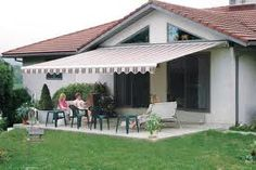 Check out our retractable awning photo gallery. Browse photos of residential retractable awnings. You're furnishing from harmful UV rays with a Betterliving retractable awning. Outdoor Rooms, Outdoor Living, Outdoor Decor, Design Your Home, House Design, Awning Shade, Outdoor Awnings, Patio Enclosures, Solar Shades