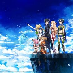 kirito, Asuna......- Sword Art Online #anime