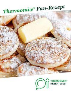 """Poffertjes """"wie vom Jahrmarkt"""" von Flensburger Jung. Ein Thermomix ® Rezept aus der Kategorie Backen süß auf www.rezeptwelt.de, der Thermomix ® Community."""
