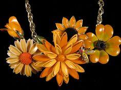 Vintage Necklace  Recliamed Vintage by JenniferJonesJewelry, $125.00