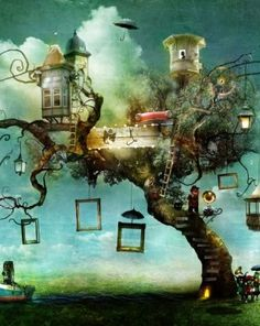 A Tree.  Alexander Jansson was born and raised in Uppsala, Sweden. At an early age Alexander developed a huge interest for all things concerning music and art.  At his early twenties Alexander moved to Gothenburg for art studies at the New Domen Artschool. After forming a studio along with some friends he tried his luck as an traditional artist.