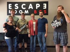 This group escaped Dr. Andrews lab in 42 minutes!