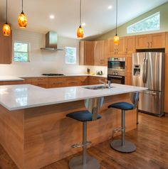 A Watermark & Company kitchen remodel in the Travis Heights neighborhood of Austin.