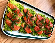 The Easiest Way To Salt Samon At Home? Crispbread With Mashed Avocado And Salted Salmon