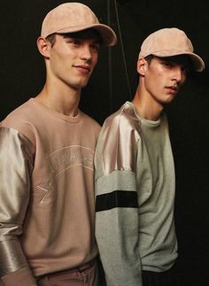 Kit Butler & Vlad Blagorodnov ph Piczo - Backstage @ Paul & Joe S/S 17