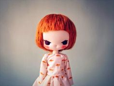 beautiful #doll #red #hair / Evangelione