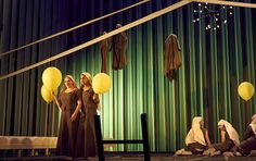 The Decameron, Nationatheatret Oslo,  Play adapted and directed by Elisa Kragerup, Set design and costume design by Steffen Aarfing 2017.