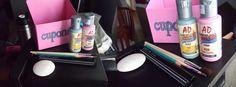 DIY COUPON BOX! More at: http://thisblogbelongstosabi.blogspot.com.ar/2014/07/diy-coupon-box.html  #project #diy #pink #coupon #box #productive #acrylic #paint #blogspot #materials #eraser #pen
