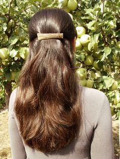 Deer antler hair clip hair barrette french barrette