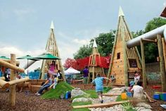 Wonderfully Wooden Playground | 10 Ridiculously Cool Playgrounds Part 7 - Tinyme Blog