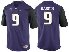 5545429b90d Men Washington Huskies  9 Myles Gaskin College Football Jerseys-Purple  Carroll College