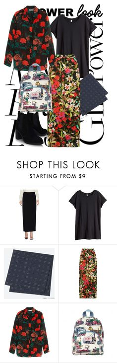 """""""My Power Look"""" by farrahdyna ❤ liked on Polyvore featuring Ann Demeulemeester, H&M, Uniqlo, M&Co, Ganni, Cath Kidston, Topshop and MyPowerLook"""