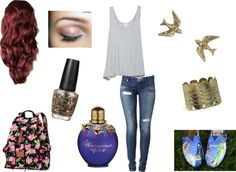 """School Today"" by m-huntzy on Polyvore"