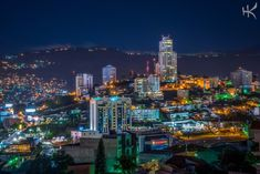 Tegucigalpa de noche Honduras