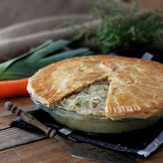 leek and chicken pot pie roti n rice leek and potato soup roti n rice ...