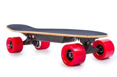 Ninestep 28 inch Electric Skateboard is cheap electric longboard is bidirectional, means it can head either forward or backward by simply switching the direction button on the remote.