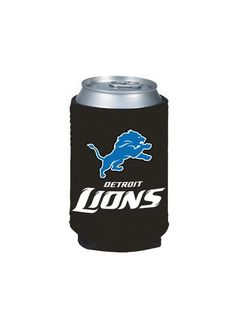 Detroit Lions Logo Collapsible Can Cooler