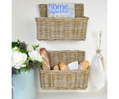 Homewares & Home Decor Online-Cane Wall Basket