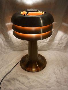 Mid Century Danish Design 60er 70er Tisch Lampe Desk Lamp Agne Jakobsson #<   eBay