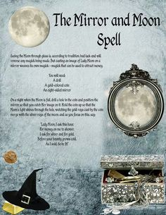 Moon and mirror spell