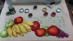 Pintando frutas