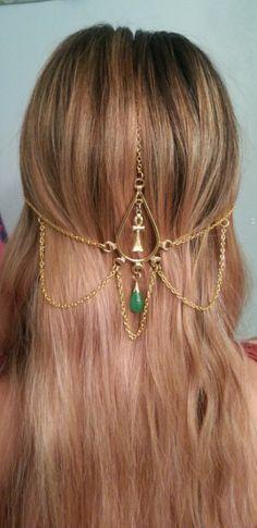 cleopatra head jewelry