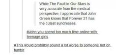John Green knows that Forever 21 has the cutest sun dresses Funny Quotes, Funny Memes, Hilarious, Jokes, It's Funny, Funny Stuff, Jhon Green, John Green Books, Tfios