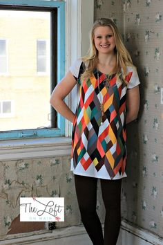 12 p.m. by Mon Ami...  Shop this look at The Loft in store or online...
