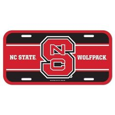 NC State License Tag – 460 Sports