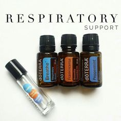Respiratory support rollerball recipe. 10 drops Balance, 10 drops Frankincense, 7 drops Peppermint, top with FCO.  Find your CPTG essential oils and more at www.mydoterra.com/dianesulzer
