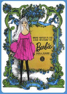 Vintage Vinyl Barbie Doll Cases by MyLifeInPlastic.com, via Flickr