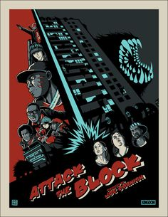 Attack the Block // Design & Illustration by Kevin Ang