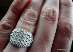 A traditional sardinian wedding ring made with an accurate and elegant creative technologies: Filigree/ Filigrana Sarda