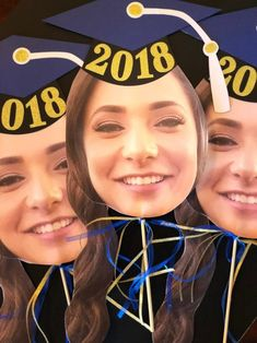 Cute and Funny Graduation prop! Cheer on your family and friends on Graduation D… Sponsored Sponsored Cute and Funny Graduation Graduation Shirts For Family, Graduation Party Decor, High School Graduation, Graduation Photos, Face On A Stick, Big Head Cutouts, Coaching, Software, Graduation Cupcakes