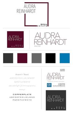 Audra Reinhardt Real Estate   Brand Design By Provision Ink | Logo | Social Media | Quotes | Stationary | Website | http://www.provisionink.com/