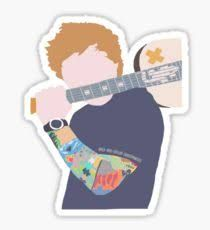 Image Result For Ed Sheeran Stickers Ed Sheeran Stickers Tumblr Stickers