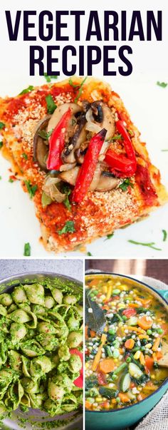 Vegetarian recipes that taste so good and are easy to make! You will love these healthy and delicious vegan meals